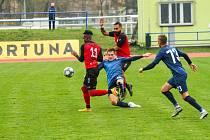Blanenští fotbalisté doma proti Táborsku neuspěli.