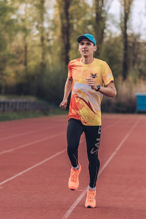 Blanenský běžec Jan Kohut.