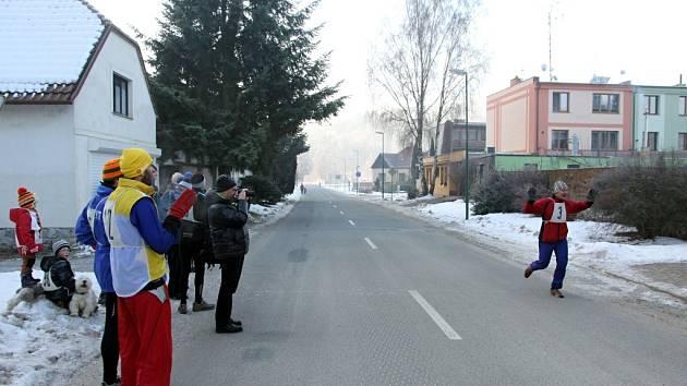 Sloupský silvestrovský běh vyhrál boskovický Roman Chlup.