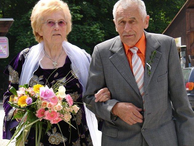 Zlatá svatba na Macoše
