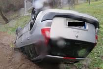 Škoda dvě stě tisíc korun a lehké zranění řidičky. Tak ve čtvrtek před devátou ráno dopadla dopravní nehoda dvou osobních aut na blanenské ulici Svitavská.