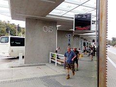 V Blansku dokončili nové autobusové nádraží. Naostro začne fungovat v plném provozu od 1. srpna.