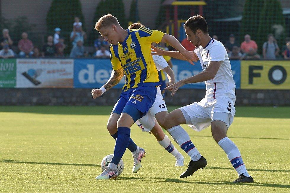 12.9.2020 - domácí SK Líšeň v bílém proti FK Varnsdorf