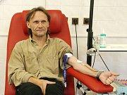 Ivo Kraus z Olomučan je dlouholetý dárce krve. Nedávno zaznamenal třístý odběr.
