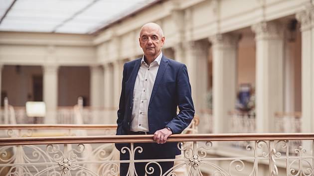 Blanenský starosta Jiří Crha.