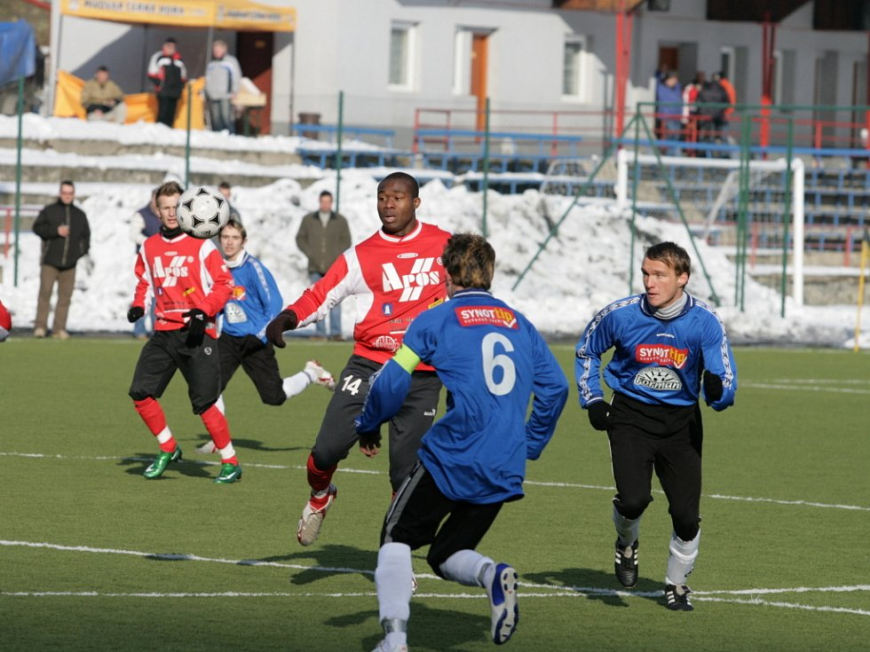 Fotbalisté Blanska si ze sobotního přípravného zápasu v Letohradě přivezli těsnou porážku 1:2.