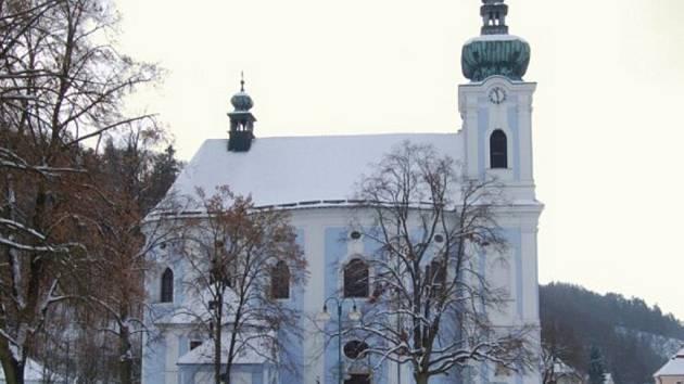 Kostel ve Sloupu je vyhledávaným místem poutníků.