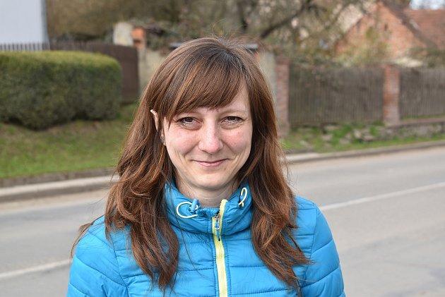 Vilma Šejnohová, 35let, na rodičovské dovolené.