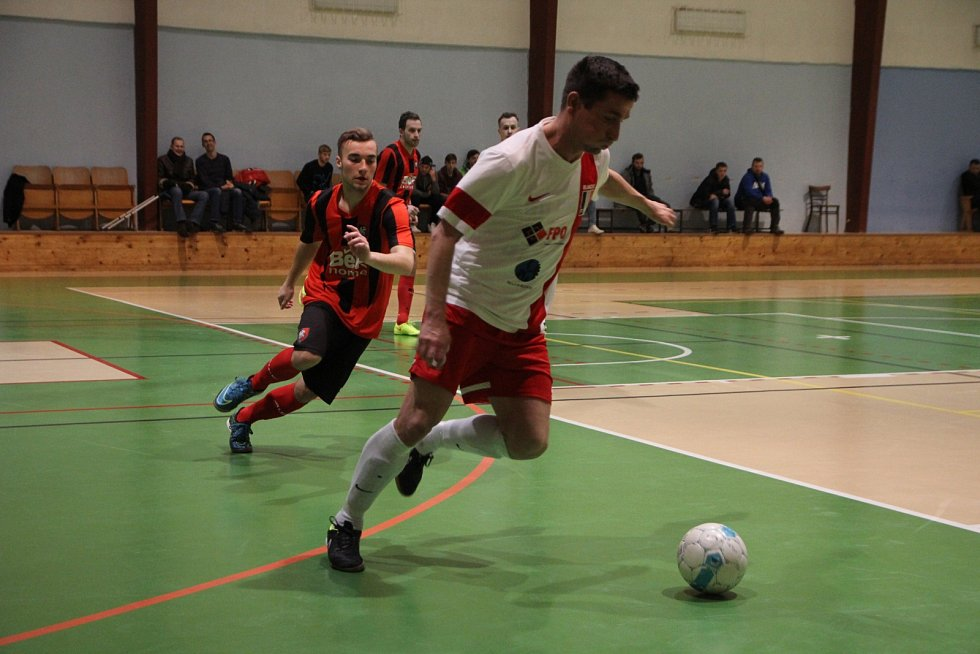 Futsalisté FPO Blansko porazili v derby Kotvrdovice 7:2.
