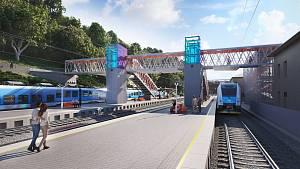 Úprava nádraží v Adamově bude stát bez daně 834 milionů korun.