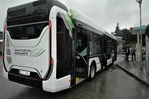 V Blansku testuje dopravce autobus na plyn.