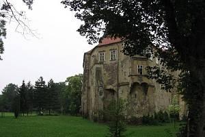 Zámek Miroslav. Ilustrační foto