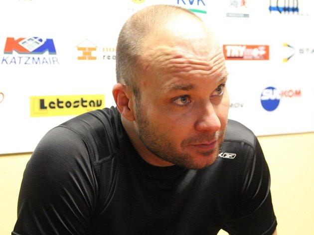 Sportovní manažer Minervy Boskovice Petr Hrachovina.