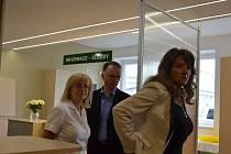Nové Centrum klientskych služeb ve čtvrtek slavnostně otevřeli v Nemocnici Boskovice.