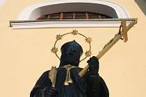 Kostel sv. Vavřince v Černé Hoře.