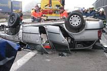 Tragická dopravní nehoda. Ilustrační foto
