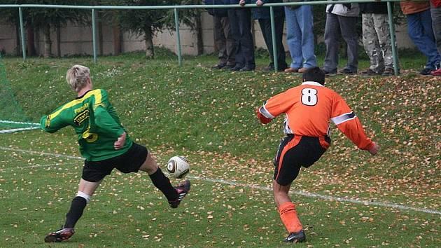 Fotbalisté Ráječka remizovali se Znojmem 0:0.