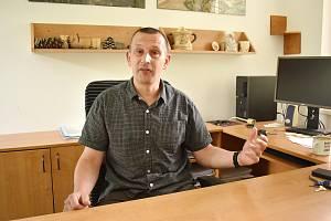 Šéf Správy CHKO Moravský kras Dominik Franc.