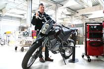 Nový motocykl značky Blata