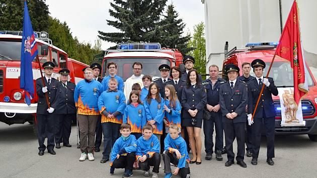 Členové SDH Lipovec.