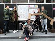 V soutěži Hala roku JUNIOR 2018 obsadili žáci Masarykovy střední školy v Letovicích druhé a osmé místo.