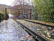 Ježkův most na novém místě v Blansku čeká na další využití.