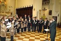 Komorní smíšený sbor Kantila ze Křtin.