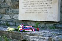 Uctění výročí 75 let od konce druhé světové války v Boskovicích.