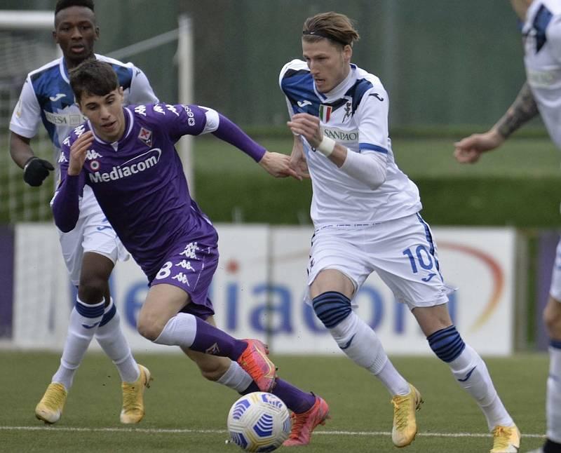 Fotbalista Lukáš Vorlický z Atalanty Bergamo při utkání proti Fiorentině.