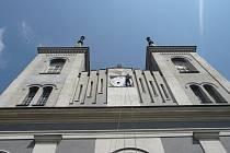 Kostel ve Vanovicích.