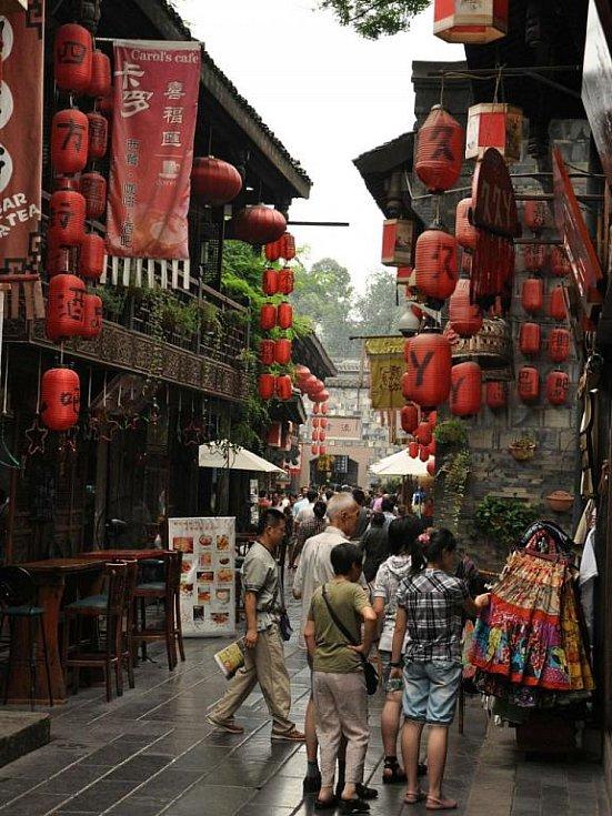 Cestovatelé z Blanenska Martin Hájek a Pavlína Balcarová putují po Číně. Tentokrát navštívili provincii Sichuan.