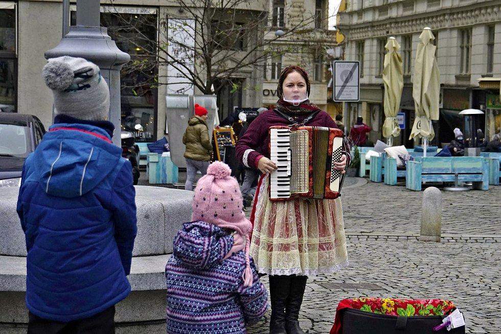 Z předvánoční procházky Brnem. Foto: Monika Šindelková