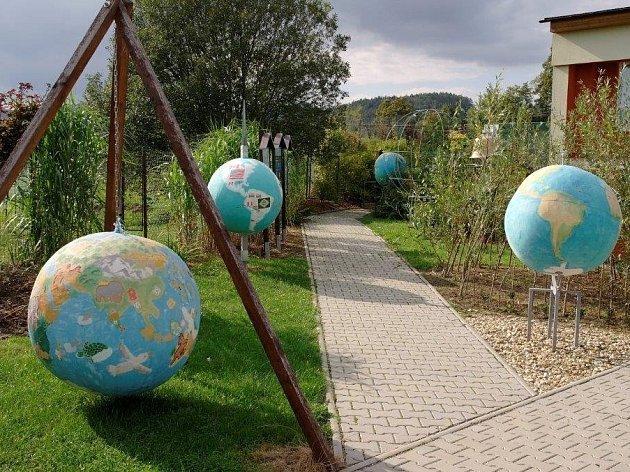 Školní zahrada jako umělecké dílo