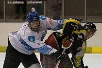 Blanenští hokejisté si připsali vítězství.