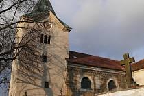 Kostel v Bořitově.