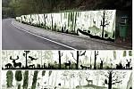 Boskovičtí vyzdobí opěrnou zeď v Pilském údolí. FOTO: ARCHIV MĚSTA BOSKOVICE