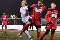 Brňané vybojovali v dohrávce šestého kola Superligy malého fotbalu na hřišti Pivovaru Černá Hora Blanensko cennou výhru 3:2 po pokutových kopech.