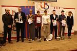 Vyhlášení ankety Sportovec okresu Blansko za rok 2019, které uspořádala Česká unie sportu, se konalo ve Valchově.