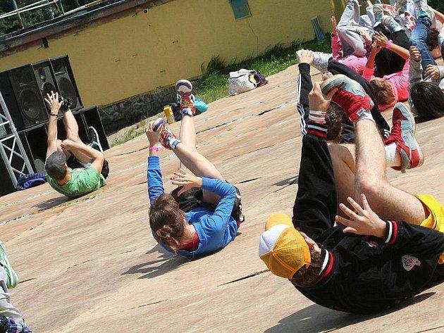 Street Dance Kemp v Jedovnicích.