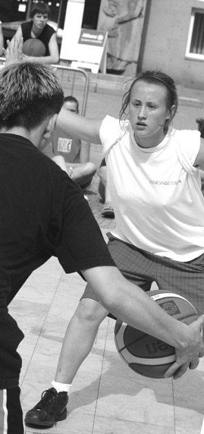 Streetball v Blansku