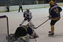 Hokejisté Dynamiters Blansko porazili Uherský Brod 4:2.