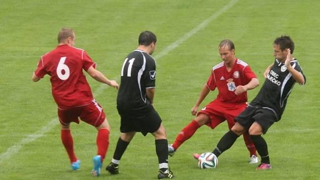 Boskovičtí fotbalisté postoupili v poháru přes Ráječko až po penaltovém rozstřelu.