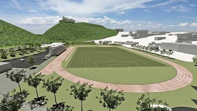 Nejen se sportovní halou, ale také skateparkem, lezeckou stěnou, in-line dráhou  a desítkami nových parkovacích míst. S tím vším počítají tři návrhy studie, které řeší úpravy areálu Červená zahrada. Všechny počítají s demolicí takzvaného Dvořáčkova mlýna.