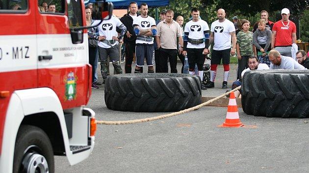 V Šošůvce se konal třetí ročník siláckého pětiboje.