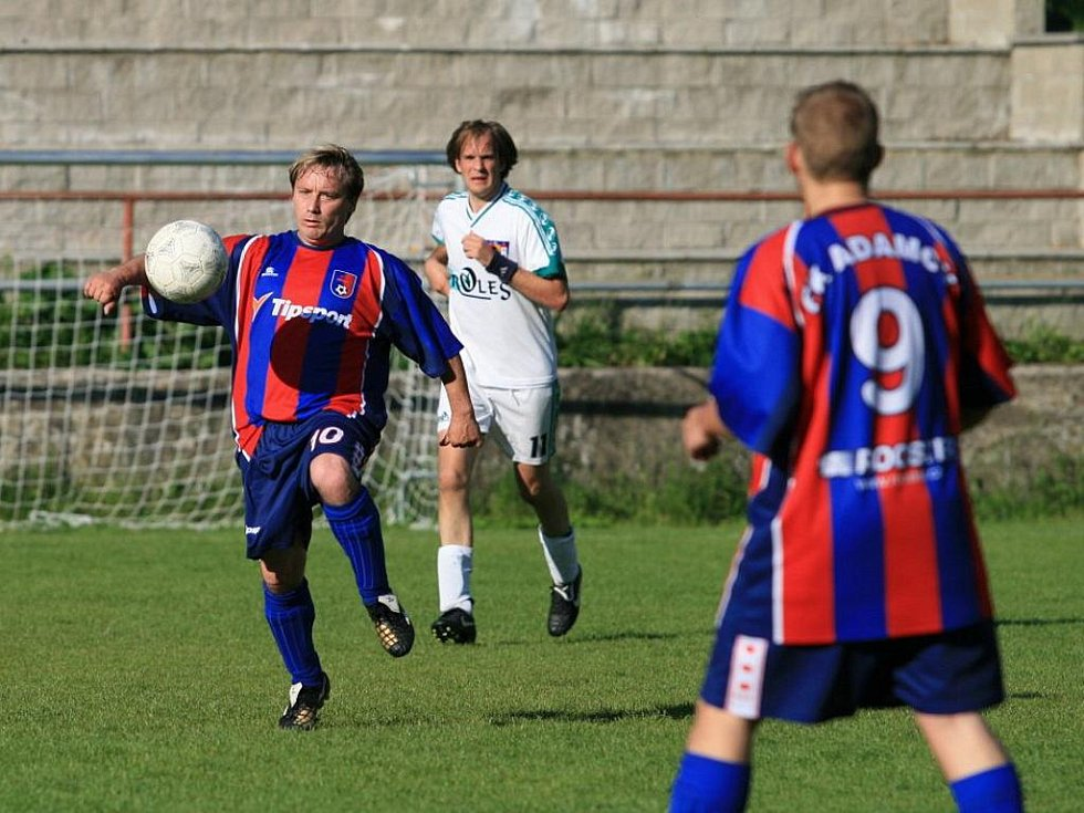 Fotbalisté Adamova remizovali s rezervou Bořitova ve čtvrté třídě 2:2.