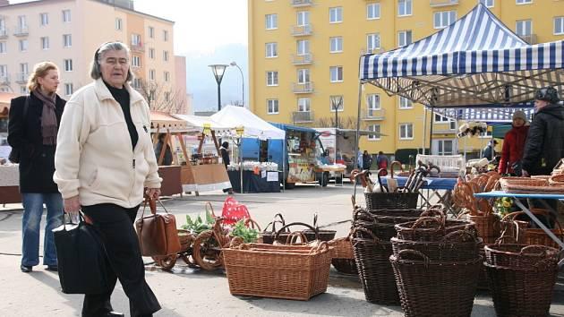 Trhy v Blansku. Ilustrační foto.