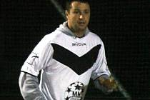 Fotbalista Sadrosu Boskovice Lukáš Martinek.