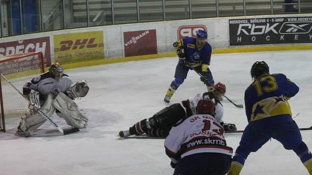 Boskovičtí hokejisté porazili v domácím zápase Šternberk.