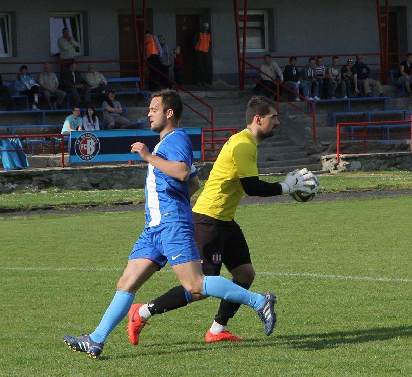 Fotbalisté Boskovic porazili druhou Líšeň 4:2 a vedou tabulku I. A třídy skupiny A o pět bodů.