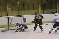 Moravské Budějovice vyhrály v Blansku 4:2. Blansko se trefilo až ve třetí třetině a v tabulce krajské hokejové ligy zůstává desáté.